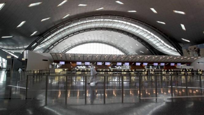 Novo terminal do Aeroporto Internacional de Hamad, em Doha, no Qatar Foto: FADI AL-ASSAAD / REUTERS