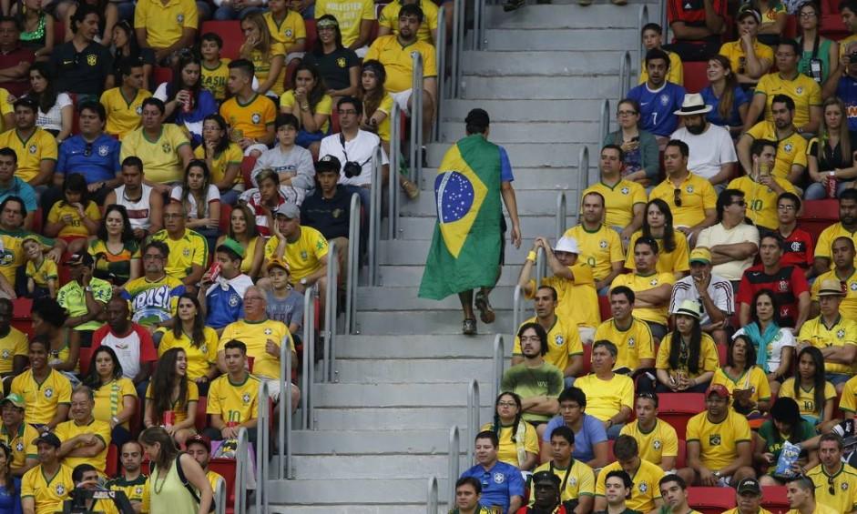 Brasil sai melancolicamente da Copa Foto: Alexandre Cassiano / Agência O Globo