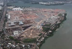 Vista aérea do Parque Olimpico Rio 2016, na Zona Oeste do Rio Foto: Genilson Araújo / Parceiro