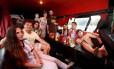 Os Postorivo no motorhome: família argentina se instalou no Terreirão e viu a final em Copacabana