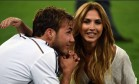 Ann-Kathrin é namorada de Götze, autor do gol que deu a vitória para a Alemanha Foto: AFP