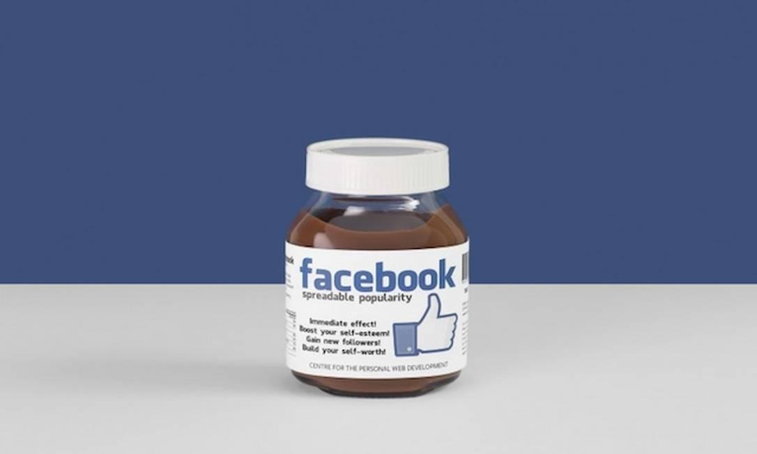O Facebook, é claro, não poderia ficar de fora Divulgação / Valerioloi.com