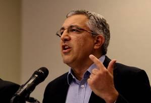 Candidato ao governo de São Paulo, Alexandre Padilha Foto: Fernando Donasci / Agência O Globo