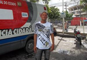 Anderson Gabriel da Silva: escândalo para arrumar vaga na UTI e internar pai no maior hospital público Foto: Odilon Rios