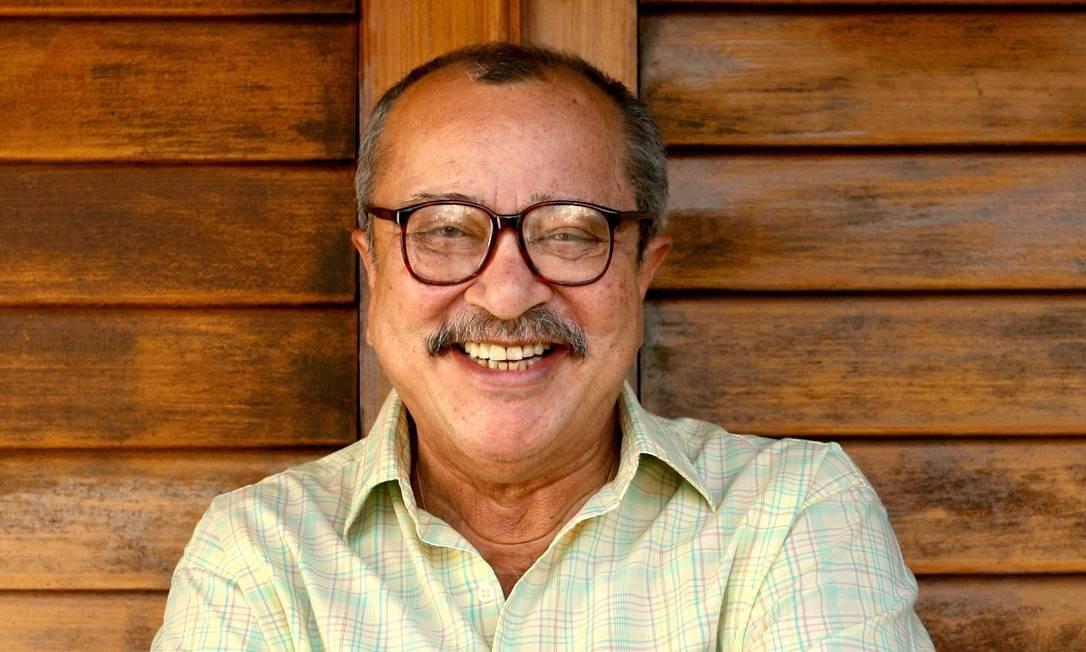 João Ubaldo Ribeiro, em 2008 Foto: Mônica Imbuzeiro / Agência O Globo