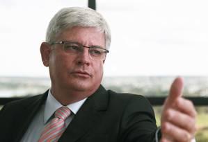 Procurador-geral da República Rodrigo Janot Foto: Jorge William / Agência O Globo