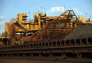 Empresas como a Vale podem estar entre afetadas pela desaceleração Foto: Dado Galdieri / Bloomberg