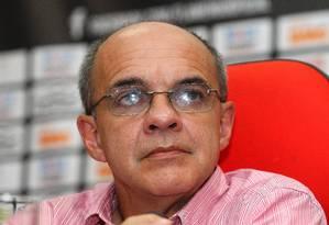 O presidente do Flamengo, Eduardo Bandeira de Mello Foto: Ivo Gonzalez / O Globo