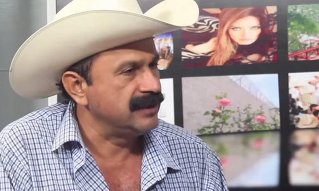 Hilario Ramírez Villanueva e seu indefectível chapéu de vaqueiro Foto: / Reprodução do Youtube