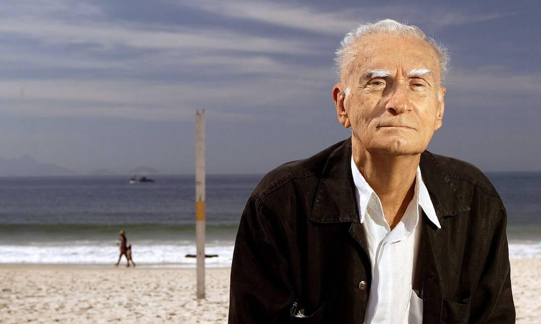 O escritor Ariano Suassuna, em foto de 2007 Foto: Agência O Globo/Leonardo Aversa