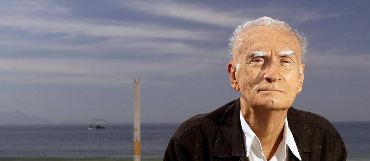 O escritor Ariano Suassuna, em foto de 2007 Foto: Leonardo Aversa / Agência O Globo