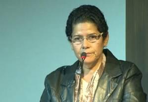 A deputada Janira Rocha: 'Dei carona, sim' Foto: Reprodução / TV Globo