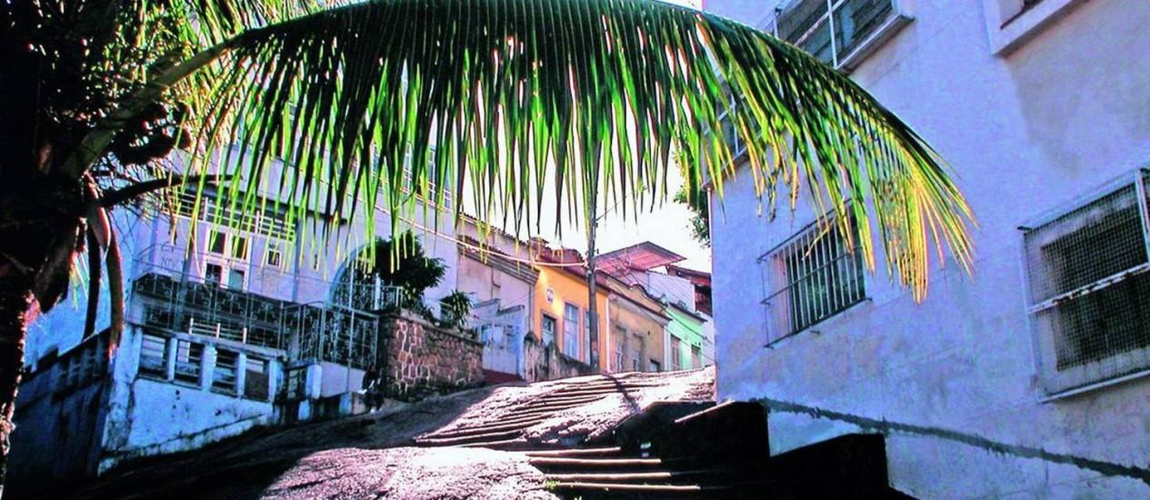 A Pedra do Sal: área de proteção cultural Foto: Divulgação
