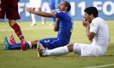 Suárez foi punido com nove jogos de suspensão por mordida em Chiellini Foto: TONY GENTILE/REUTERS