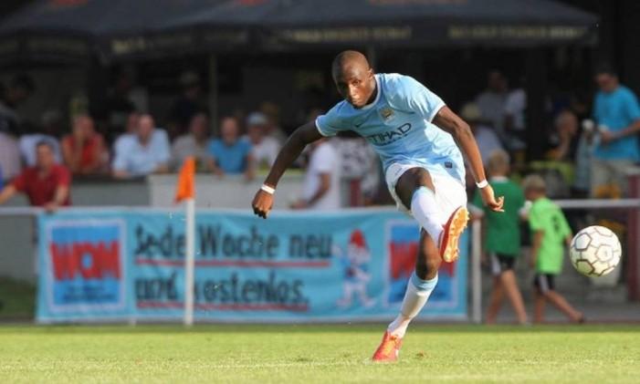 O francês Seko Fofana foi alvo de racismo em amistoso da equipe sub-21 do Manchester City, na Croácia Foto: Divulgação/Manchester City
