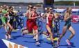 Uma em cada quatro entrevistadas tinham um componente da tríade da mulher atleta (osteoporose, distúrbios menstruais e transtornos alimentares)