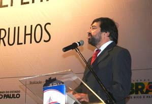 Presidente da Associação Brasileira de Municípios, Eduardo Tadeu Pereira cobrou mais avanços na gestão do PT Foto: Reprodução/ABM