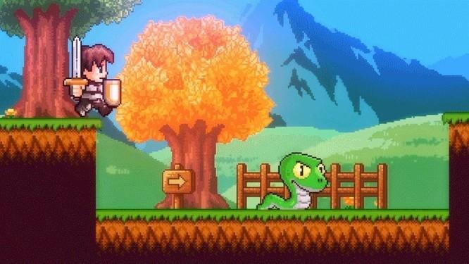 Desenho mostra como será estética do game 'A lenda do herói', criado pela dupla Castro Brothers Foto: Divulgação