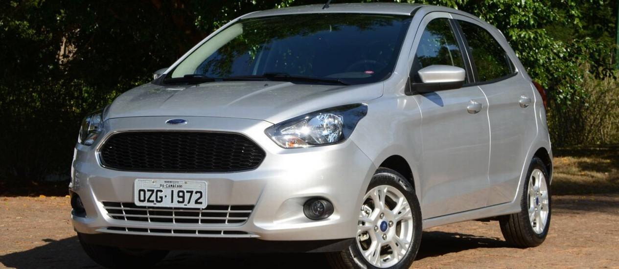 Dianteira Tem Formas Bem Resolvidas E Acompanha O Design De Outros Carros Da Ford Foto