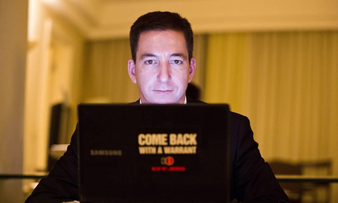 Glenn Greenwald, jornalista e advogado americano Foto: / Arquivo/Fabio Seixo/5-6-2014