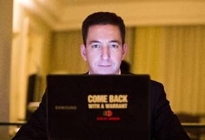 Glenn Greenwald, jornalista e advogado americano Foto: Arquivo/Fabio Seixo/5-6-2014