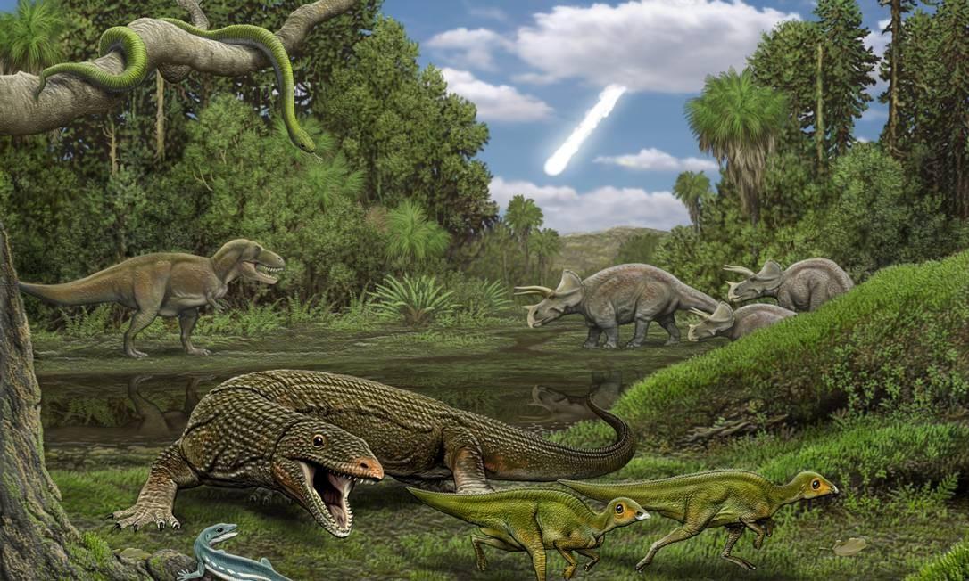 Estudo traz uma nova explicação para a extinção dos dinossauros: 'maré de azar'