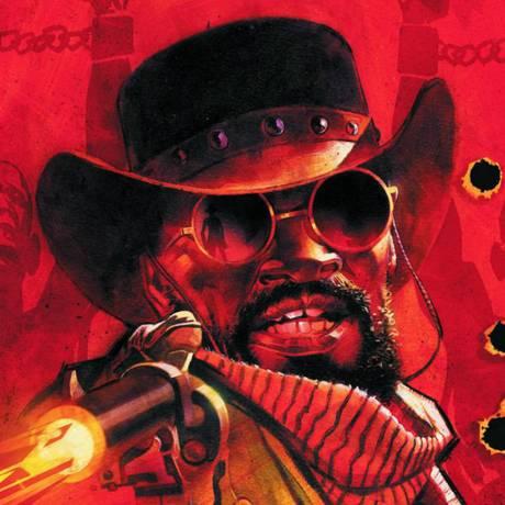 Django e Zorro, dois heróis do velho oeste Foto: Montagem/Divulgação DC & Dynamite