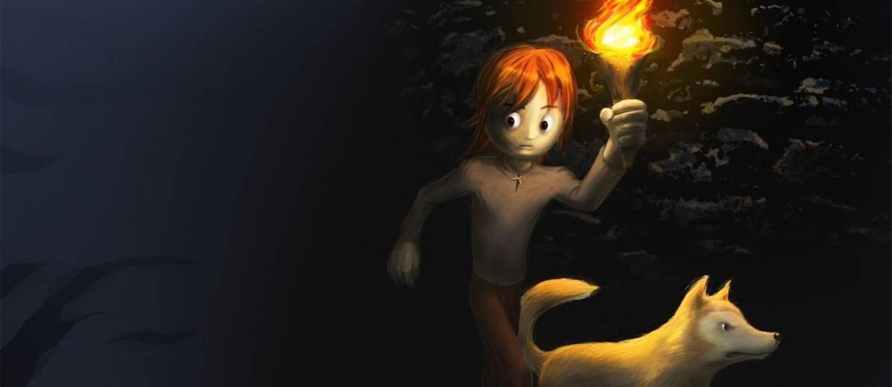 'Liaison' conta a aventura de Lug e seu cão, Savior, para salvar um amigo Foto: Divulgação
