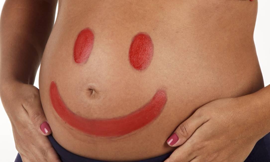Análise de dez estudos mostra que enjoos matinais podem ser sinais de gravidez e bebês mais saudáveis Foto: Marcelo Theobald / Agência O Globo
