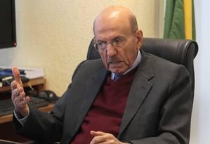 Ministro da Controladoria-Geral da União (CGU), Jorge Hage Foto: Agência O Globo / Givaldo Barbosa/28-07-2013