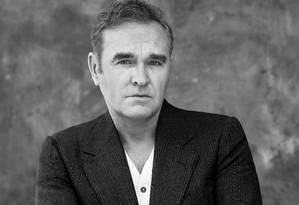 O cantor Morrissey Foto: Greg Gorman / Divulgação