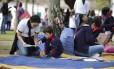 Começa a Festa Literária de Paraty, a Flip, e a movimentação já é grande na Praça da Matriz.