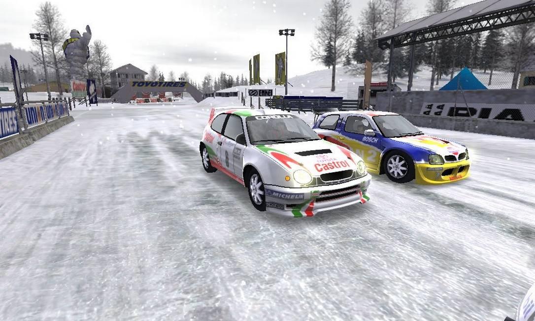 Jogo 'Rally Sports Challenge' ainda guarda recorde batido por pai de gamer, falecido há dez anos Foto: Divulgação