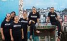 Integrantes do Maré de Sabores, projeto premiado pela ONU por contribuir na melhoria da qualidade de vida de mulheres Foto: Cecilia Acioli / Cecília Acioli