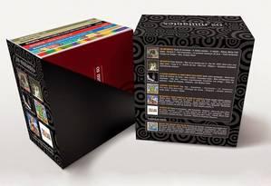 A caixa d'Os Mutantes Foto: Divulgação/Lastudio