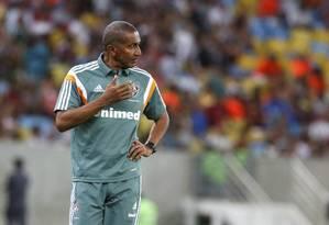 O técnico Cristóvão Borges em foto de arquivo Foto: Marcos Tristão/3-8-2014