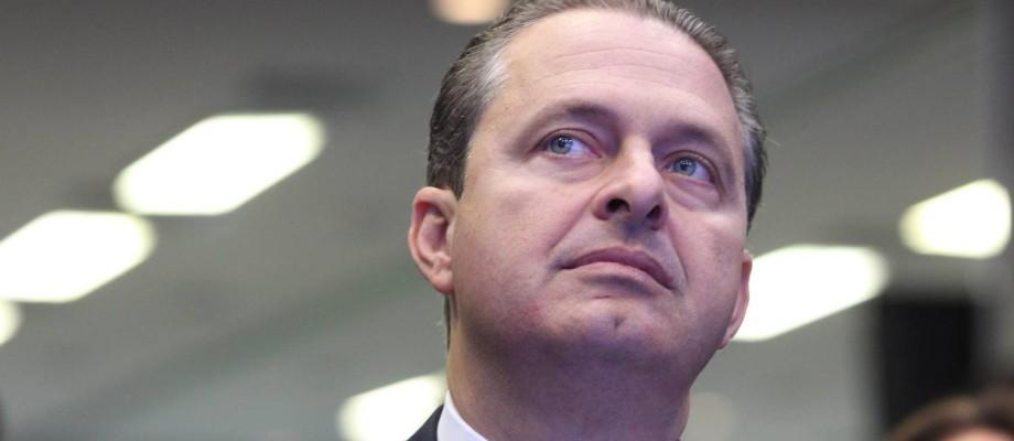 Campos defendeu revisão do fator previdenciário em entrevista Foto: Marcos Alves / O Globo