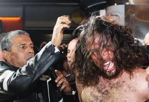 Rafael Lusvarghi foi detido no dia 23 de junho Foto: Fernando Donasci/23-06-2014 / Agência O Globo