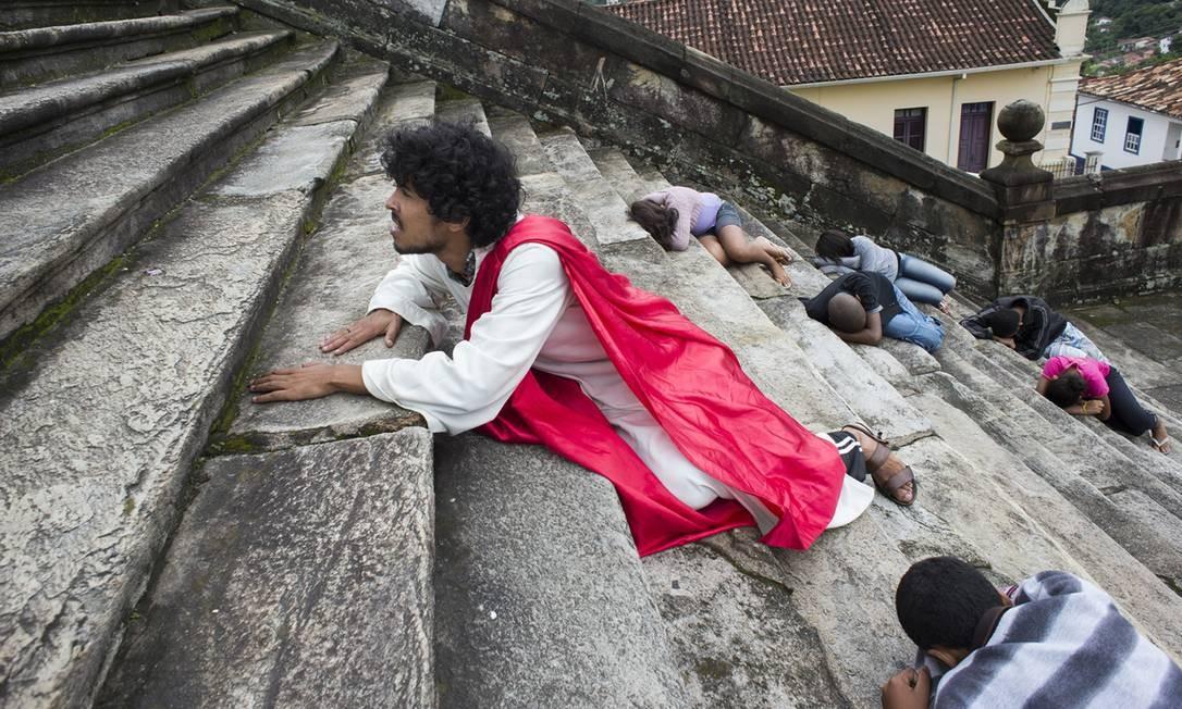 Em Ouro Preto (MG), as fotos foram feitas durante a Semana Santa Foto: Divulgação/ Isabela Senatore