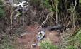 Avião da Gol caiu no norte do Mato Grosso, o que provocou a morte de 154 pessoas