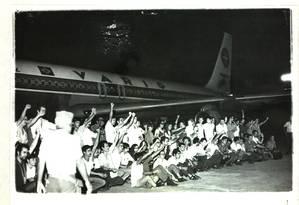 Aeroporto do Galeão, Rio de Janeiro, 13 de Janeiro de 1971 Foto: Acervo do Arquivo Publico do Estado do Rio de Janeiro
