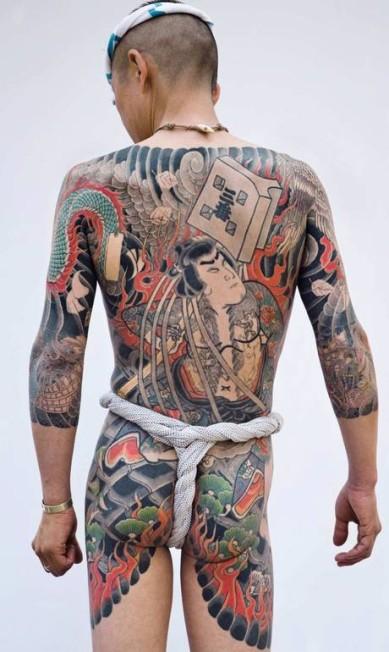 Tatuagem tradicional japonesa Foto: Divulgação/Tattoinjapan.com/Martin Hladik / Agência O Globo