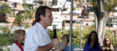 O prefeito Eduardo Paes Foto: Fabio Rossi / Agência O Globo