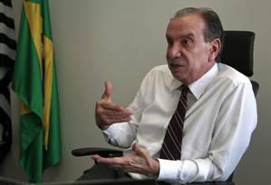 Mãos à obra. Aloysio Nunes diz que não quer cargo de executivo Foto: Jorge William / Jorge William