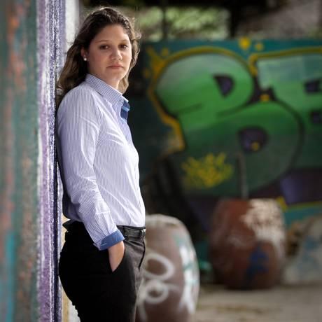 Medo evidente: Maíra Masi foi vítima de assalto com o marido Foto: Marcos Alves