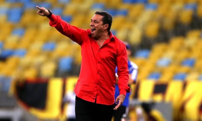 Luxemburgo quer o Flamengo com os pés no chão para a sequência do Brasileiro Foto: Rafael Moraes / Arquivo/Agência O Globo