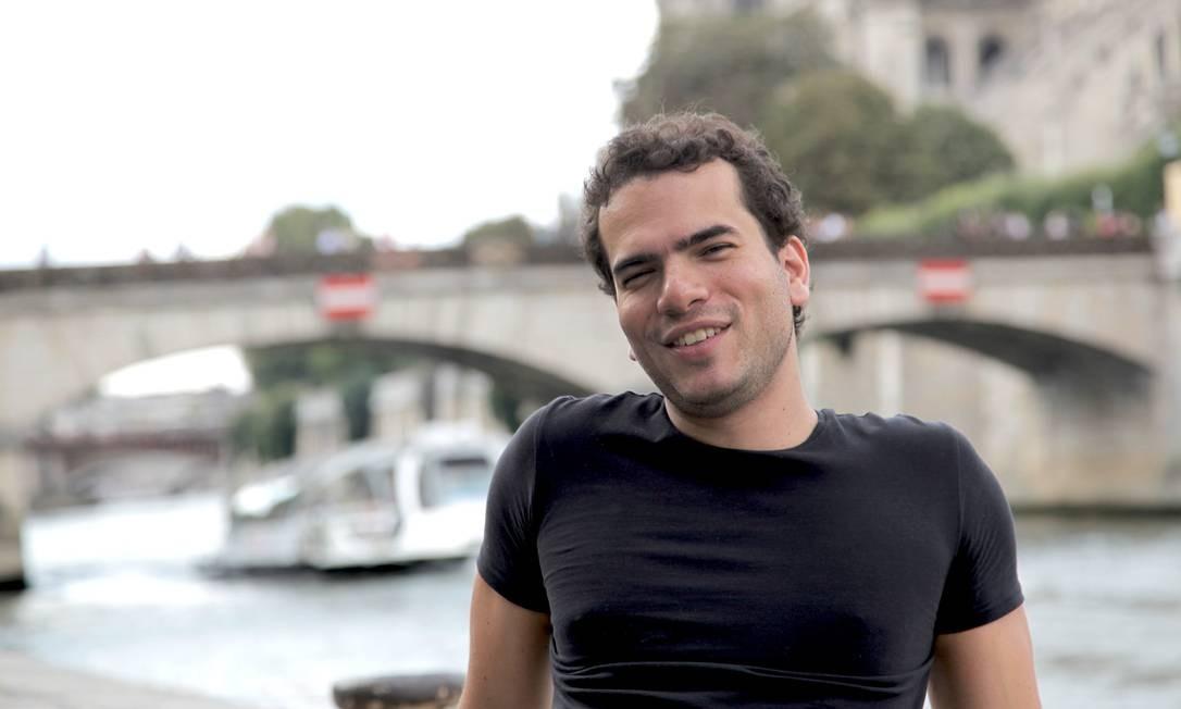 SOC - O matemático premiado Artur Ávila, de 35 anos Foto: Américo Mariano