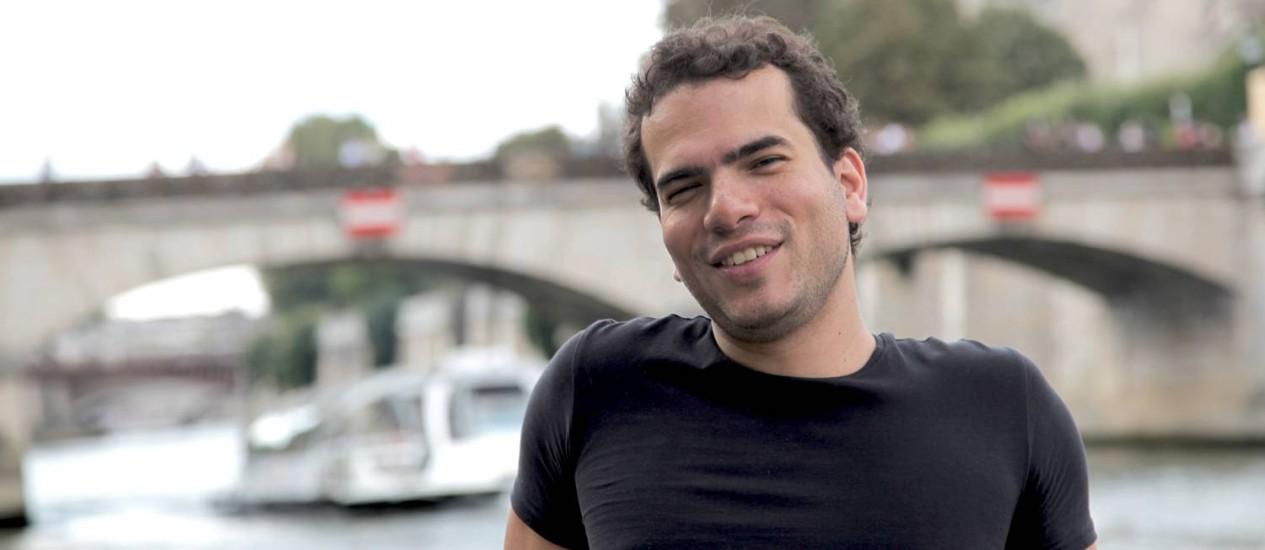O matemático Artur Avila, de 35 anos, premiado com a Medalha Fields Foto: Américo Mariano