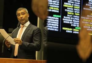 Candidatura de Romário é aceita pelo TRE-RJ Foto: Ailton de Freitas/16-07-2014 / Agência O Globo