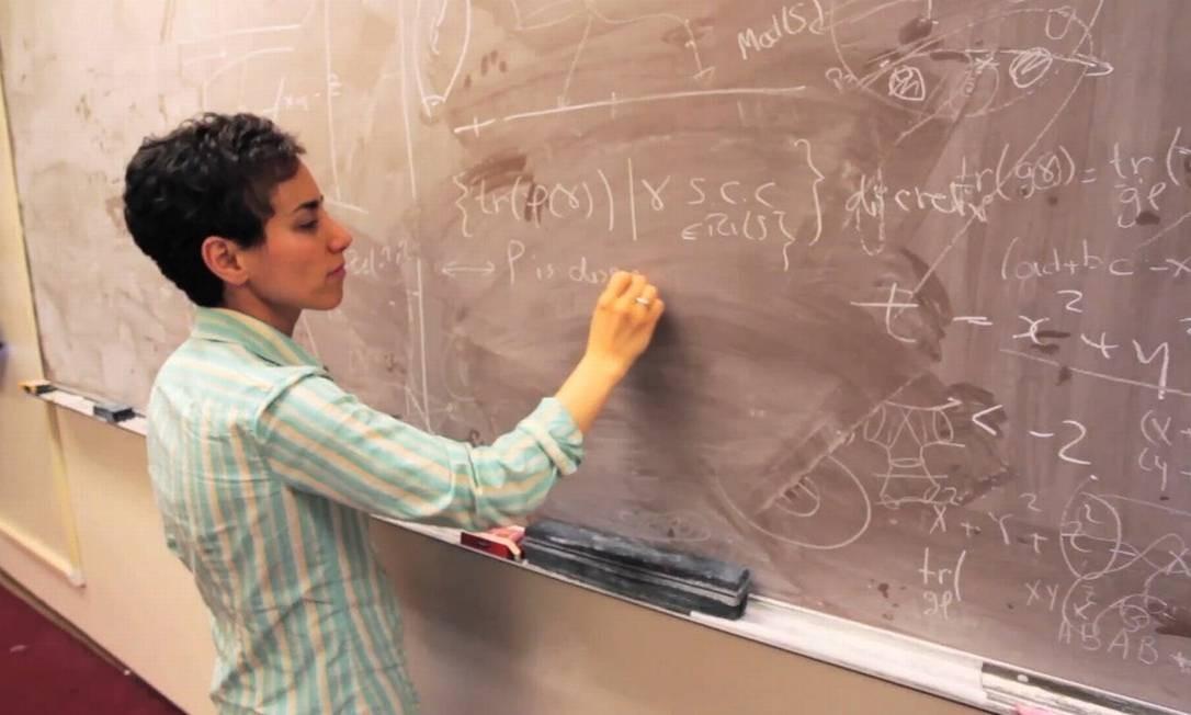 Maryam Mirzakhani: infância durante a guerra entre o Irã e o Iraque Foto: / Reprodução da internet/ Simons Foundation and International Mathematical Union